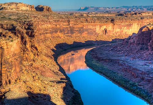 Labyrinth Canyon Wilderness in southwest Utah protects part of the Green River.