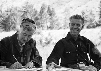Olaus and Mardy Murie